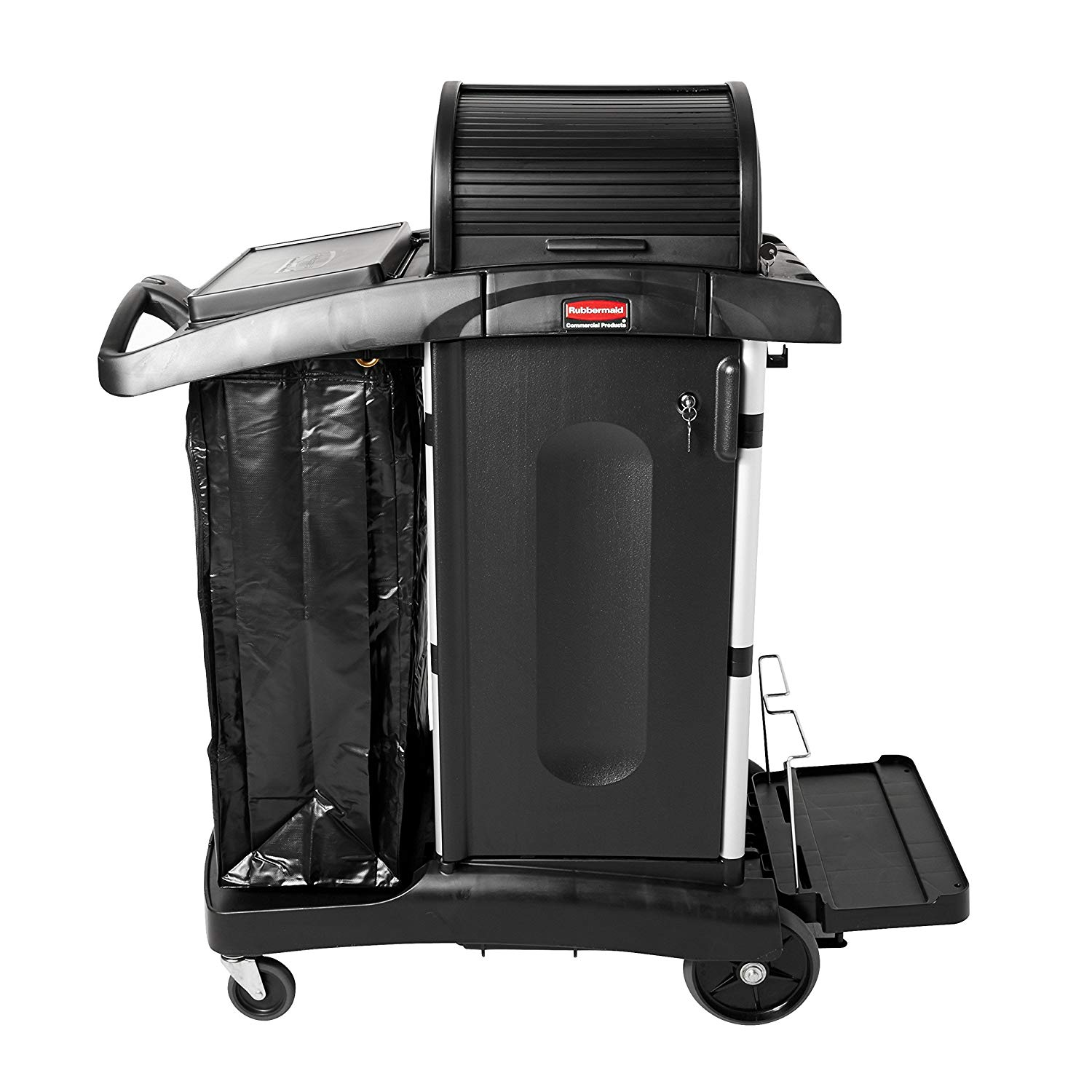 Executive Janitorial Cleaning Cart w/ Doors