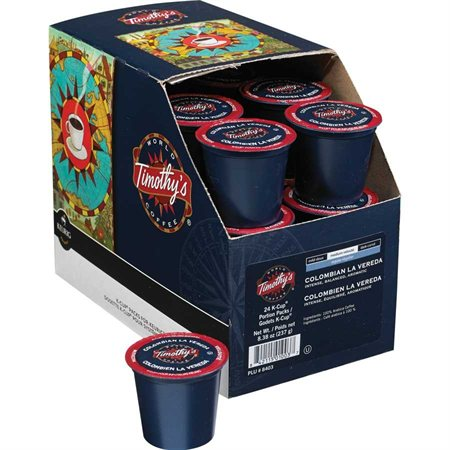 Timothy's K-Cup® Coffee Pods 24 cups / pkg