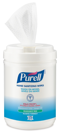 Purell® Hand & Surface Wipes 175/pk