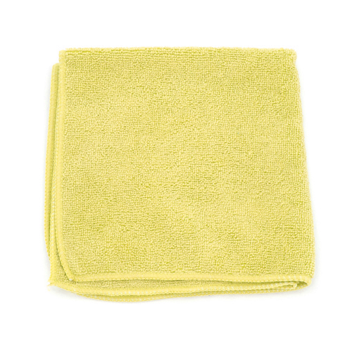 Yellow 16x16 Microfibre Cloth