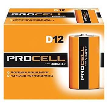 D Duracell Pro Cell Battery