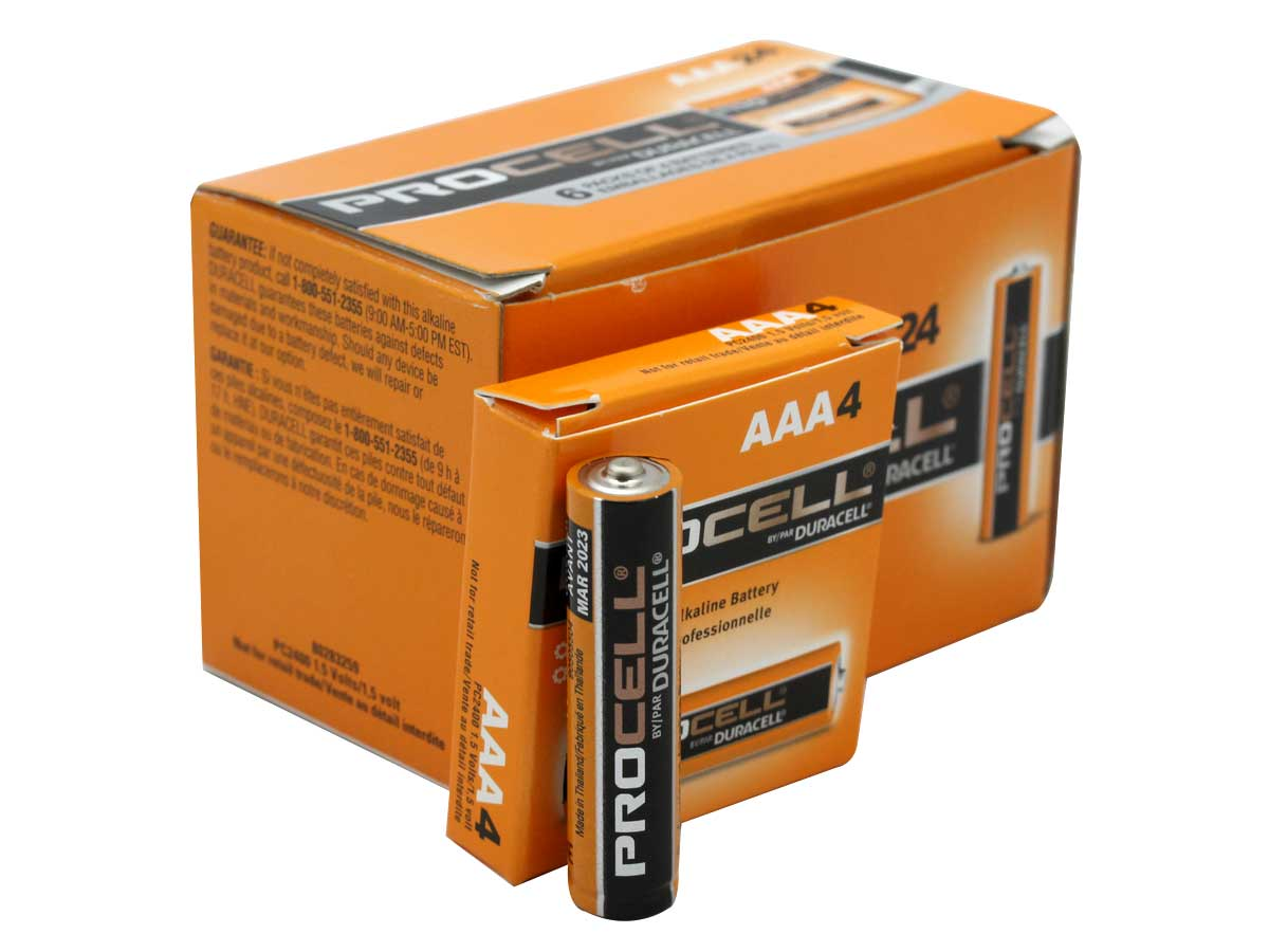 AAA Duracell Pro Cell Battery